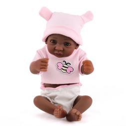 10 '' Full Body Silicone Vinyl Baby Doll Newborn Reborn Doll