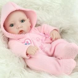 "10"" Handmade Real Looking Baby Girl Soft Vinyl Realistic Lif"