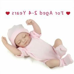 "10"" Reborn Baby Doll Handmade Lifelike Vinyl Silicone Realis"