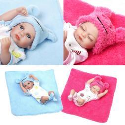 10'' Reborn Baby Girl Boy Doll Twins Realistic Baby Dolls fo