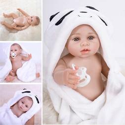 "100% Waterproof 18"" Full Body Silicone Vinyl Reborn Baby Dol"