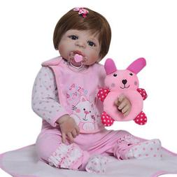 100% WATERPROOF FULL BODY SILICONE VINYL REBORN BABY DOLLS C