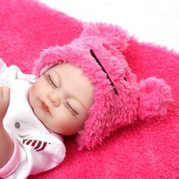 10inch Lifelike Newborn Baby Dolls Full Body Soft Silicone R