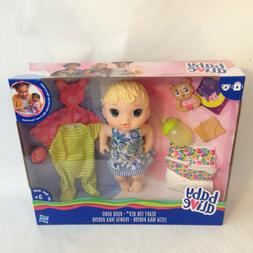 """Hasbro 11"""" Baby Alive Ready for Bed with Extra Outfits and A"""