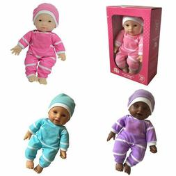 11 inch soft body baby doll in