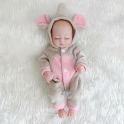 11'' Mini Full Body Soft Vinyl Silicone Real Life Newborn Re