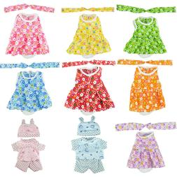 12 inch Baby Dolls Outfit Bears My Life Clothes Dress Americ