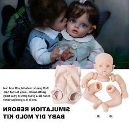 "12"" Reborn Baby Dolls Realistic Full Vinyl Silicone Body New"