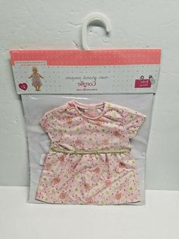 "Corolle 14"" Baby Doll Pink Flower Dress Les Classiques 2+ NE"