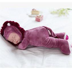 "14"" Soft Vinyl Lifelike Reborn Baby Dolls Girl Newborn Alive"