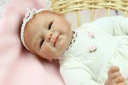 "16"" Bebe Reborn Baby Doll Toys Soft Silicone Vinyl Likelife"