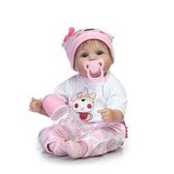 16inch Reborn Baby Dolls Realistic Cute Newborn Doll Lifelik