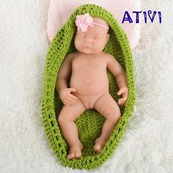 IVITA 18.5'' Sleeping Silicone Reborn Baby GIRL Eyes Closed