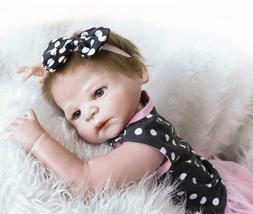 Realistic Baby Dolls Washable Silicone Baby Reborn Dolls Ful