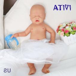 IVITA 18'' Eyes-closed Baby Doll BOY Full Body Soft Sleeping