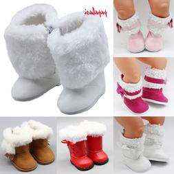18 inch Girls <font><b>Dolls</b></font> Snow Boots shoes for