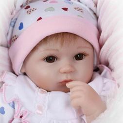 18'' Lifelike Baby Dolls Soft Silicone Vinyl Handmade Reborn