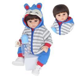 "MNMJ 18"" Reborn Baby Boy Doll Handmade Real Looking Realisti"