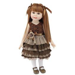 18'' Silicone Reborn Baby Dolls Realistic Baby Doll for Girl