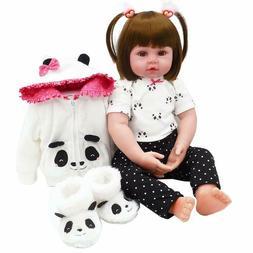 18inch Reborn Baby Dolls Realistic Cute Newborn Doll Lifelik