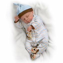 19'' Sweet Dreams Danny Sleeping Baby Boy Doll  by Ashton Dr