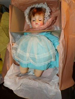 "1976 MOMMIE PET #7135 20"" MIBWT Madame Alexander Baby Doll"