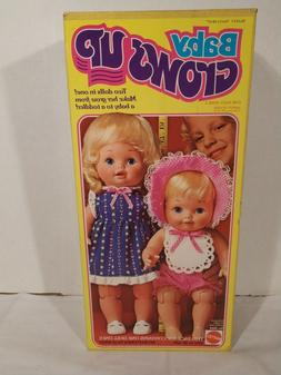 1978 MATTEL DOLL BABY GROWS UP DOLL NEW OLD STOCK NEW VINTAG