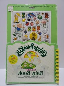 1983 CABBAGE PATCH KIDS STICKER BABY BOOK NEW