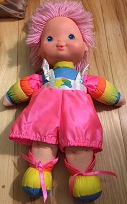 "1983 Vintage 15"" BABY BRITE Doll from Rainbow Brite Series"