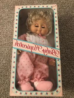 1986 Vintage Baby Hopscotch Doll Mattel Emotions Rare Boxed