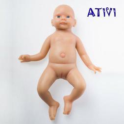 IVITA 19inch 3800g Reborn Baby Toy Newborn Lifelike Silicone