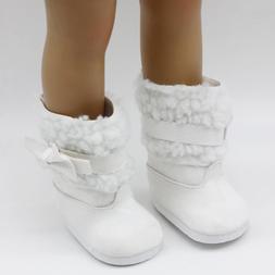 1pair Girl <font><b>Doll</b></font> Shoes Fits 18 inch 45cm