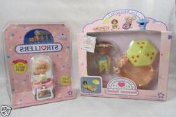 2 Adorables Baby Dolls Strollers Summer Splash NEW Meritus N