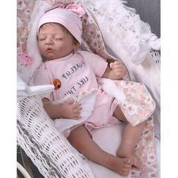 "20"" Handmade Lifelike Reborn Newborn Baby Doll Full Silicone"