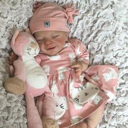 "20"" Lifelike Reborn Baby Doll Handmade Silicone Full Body Vi"