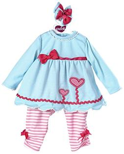 Adora 20 omcj Baby Dolls Blooming Hearts Outfit