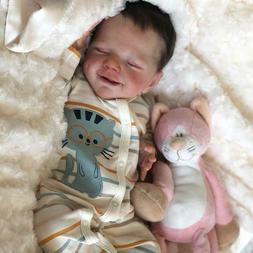 20'' Reborn Baby Doll Silicone Handmade Vinyl Realistic Newb