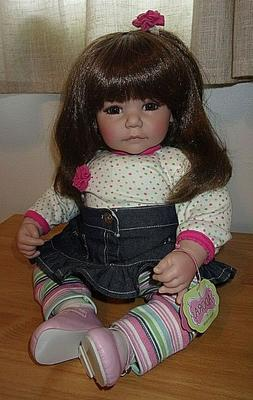"""ADORA 20"""" RETIRED BABY/TODDLER  DOLL PICTURE PERFECT"""