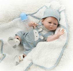 Cute Newborn Preemie Boy Silicone Vinyl Full Body Bath Dolls