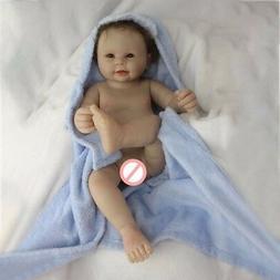 "20"" WATERPROOF Full Body Silicone Reborn Baby Boy Dolls For"