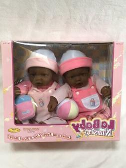 """2005 JC Toys Berenguer La Baby Nursery AA Twin Girl 16"""" Doll"""