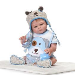 """20"""" Washable Full Silicone Reborn Baby Doll Lifelike Anatomi"""