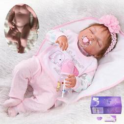 "22"" / 55cm Newborn Full Body Vinyl Silicone Reborn Baby Doll"