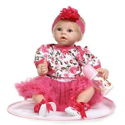 "NPK 22"" Reborn Baby Dolls Girl Real Reborn Toddler Doll Real"