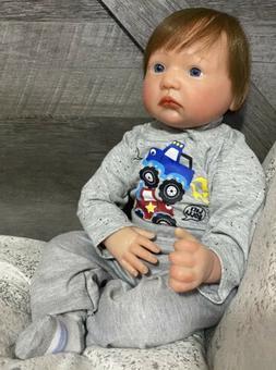"""22"""" Boy Lifelike Baby Doll"""