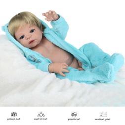 """22"""" Full body Soft Vinyl Silicone Reborn Baby Dolls Realisti"""