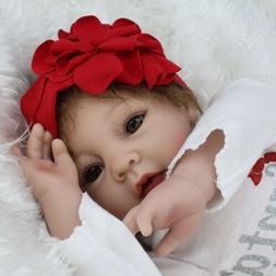 22'' Girl Reborn Baby Dolls Vinyl Silicone Realistic Toddler