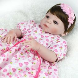 22 newborn full vinyl silicone baby girl