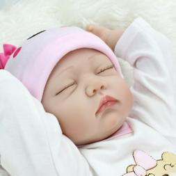22'' Realistic Newborn Baby Handmade Reborn Baby Dolls Girl