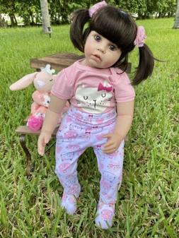 "23""-24"" Reborn Baby Doll - Soft Vinyl - Toddler 0-3 Mont"